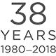 38 Years 1980 - 2018