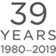 39 Years 1980 - 2019