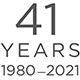 41 Years 1980 - 2021